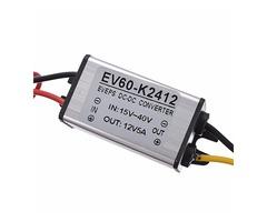 Buck Converter Step Down DC 24V to 12V 5A 60W Car Power Supply Voltage Regulator | FreeAds.info