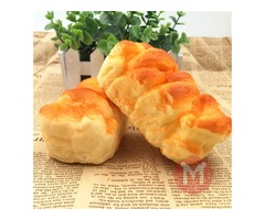 Squishy Toys 10*5cm Simulate Toast Super Soft Reality Touch Hand Pillow Office Decor