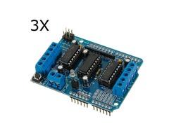 3Pcs Motor Drive Shield L293D For Arduino Duemilanove Mega / UNO