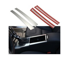 Chrome Drink Cup Holders Center Console Panel Cover Fit For Volvo XC60 S60 V60