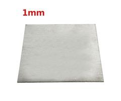 Titanium Alloy Plate TC4/GR5 Titanium Plate 1×100×100mm