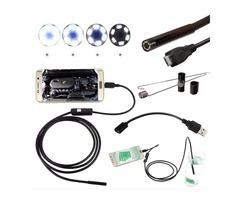 DANIU Borescope Inspection Waterproof Mini Camera 5.5mm Digital 5m USB For Android Phone