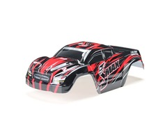 REMO D3602 1/16 Red Monster Truck Body Shell RC Car Part