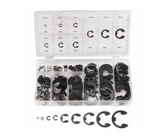 300pcs E-Clip Snap Ring Circlip Kit Retaining Ring