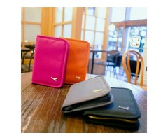 Honana HN-X958 Travel Passport Storage Bag ID Card Tickets Cell Phone Money Folding Holder Organizer