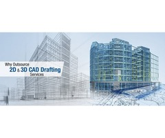 Outsource 2D & 3D CAD Drafting Services from India