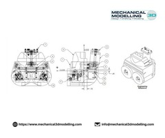 High Quality Work of CAD Conversion at Affordable Cost | Mechanical 3D Modelling