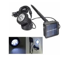 Solar Powered 6 LED Outdooors Garden Landscape Yard Lawn Spot Lightt Light Lamp