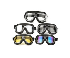 Motorcycle Goggles Motor Bike Flying Scooter Helmet Glasses Goggle Anti UV