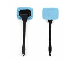 Tirol Car Wind Shield Clean Brush Shine Auto Wiper Cleaner Glass Window Brush Handy Washable Microfi