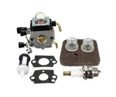 Carburetor Carb Spark Air Filter Gasket Bulb For Stihl Trimmer FS45 FS46 FS46C Zama