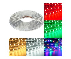 4M 5050 LED SMD Outdoor Waterproof Flexible Tape Rope Strip Light Xmas 220V