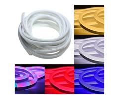 10M 2835 LED Flexible Neon Rope Strip Light Xmas Outdoor Waterproof 220V