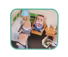 1:12 Simulation Sofa Piano Set Play House Props Dollhouse Creative DIY Material