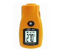 GM270 Digital LCD Non Contact Infrared Thermometer  Mini Pocket Laser Temperature Tester -32~280℃/ -