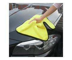 Tirol 45*38cm Microfiber Cleaning Auto Car Soft Cloth Wash Towel Tool