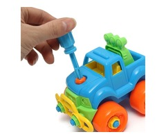 Christmas Gift For Child Disassembly Assembly Classic Car Toy