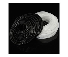 4mm PE Spiral Cable Wire Wrap Tube Organizer Cord