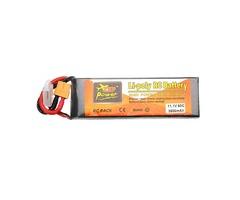ZOP Power 11.1V 3500mAh 3S 60C Lipo Battery XT60 Plug