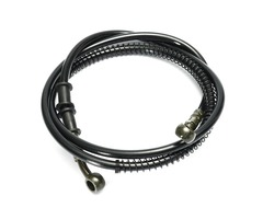 50cm - 190cm Motorcycle Braided Brake Clutch Oil Hose Line Pipe 10mm
