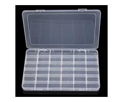 New Slots Plastic Storage Box Asjustable Case Home Organizer Jewellery Beads Box