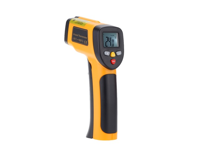 HT-816 High Precision -55~650°C(-58~1202°F) Non Contact IR Digital Infrared Thermometer Temperature  | FreeAds.info