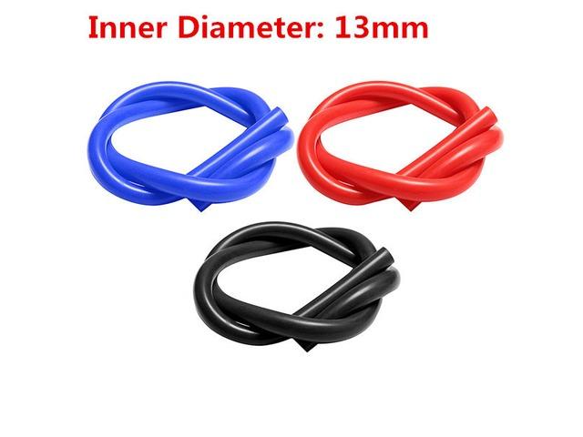 1M Inner Diameter 13mm Silicone Tube Silicone Vacuum Hose Tubing Turbo Coolant Tube | FreeAds.info
