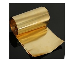 0.1 x 200 x 1000mm Brass Thin Sheet Foil Strip Handicraft Board | FreeAds.info