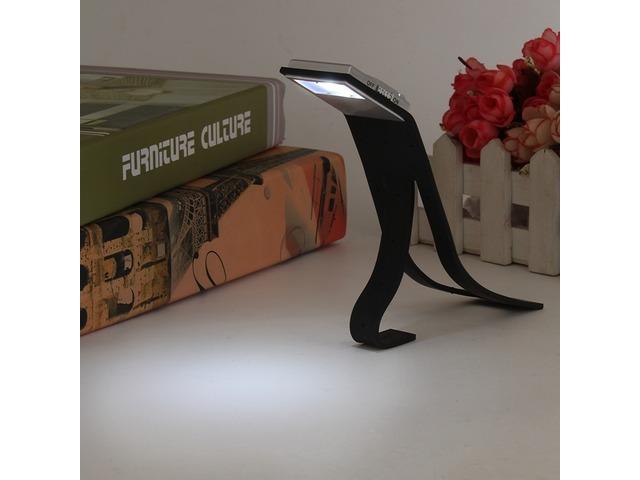 LED Flexible Folding Table Lamp Travel Light Reading Book Light | FreeAds.info