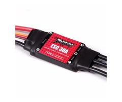 FMS Predator 30A Brushless ESC With 2A Linear BEC XT60 Plug for RC Models