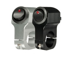 12V 10A Motorcycle Handbar Grip Light Switch On/Off Aluminum Alloy with Indicator