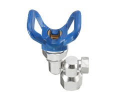 7/8 Inch F-7/8 Inch M Clean Shot Shut Off Valve Swivel Joint For Graco Airless Spray Gun
