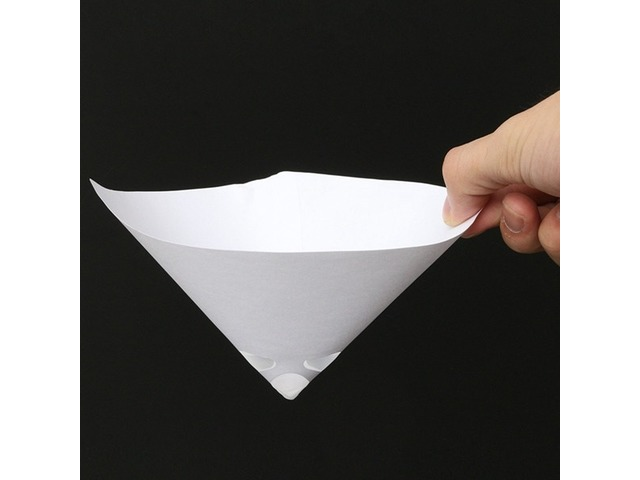 50pcs 190 Mesh Paper Paint Strainer Nylon Full Flow Conical Cone Filter Funnel | FreeAds.info
