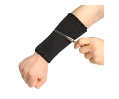 Stainless Steel Wire Safety Sport Anti Cut Sleeve Labor Protection Arm Guard Protection Sleeve