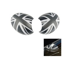 2Pcs ABS Car Door Mirror Cover for Mini Cooper Countryman R55/R56/R57/R58/R59/R60/R61
