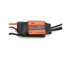 FVT SKYI020 2-3S 20A Brushless ESC With BEC 5V/2A Linear Mode