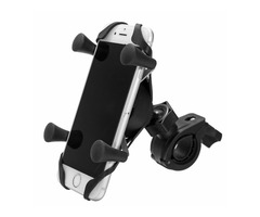 4.7-6in Phone GPS Holder Handlebar Rear View Mirror For Electric Scooters Motorcycle Bike