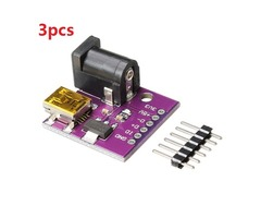 3pcs CJMCU 5V Mini USB Power Connector DC Power Socket Board For Arduino