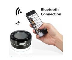 Mini IPX7 Waterproof Shockproof Wireless Stereo Bluetooth Speaker Temperature Humidity Display