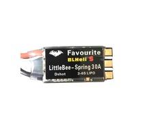 Favourite FVT LittleBee Spring 30A ESC Blheli_S Dshot OPTO 2-6S Mulitshot Oneshot for RC Drone FPV R