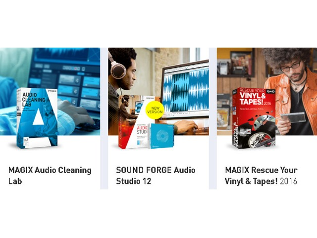 High-Quality, User-Friendly, Innovative products For music Lover From MAGIX | FreeAds.info