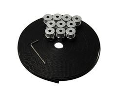 Geekcreit® 10Pcs GT2 Pulley 20 Teeth Bore 5mm 10M GT2 Belt For 3D Printer RepRap Prusa