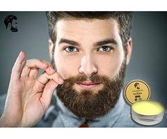 Care4 Beard Balm For Men | 100% Pure, Organic, Cruelty Free & Vegan With Natural Ingredients | S