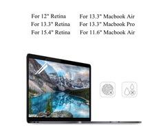 "PET Clear Transparent Anti Glare Screen Protector For Macbook Air 11.6""/13.3"" Pro 13.3"" Retina 13.3"""