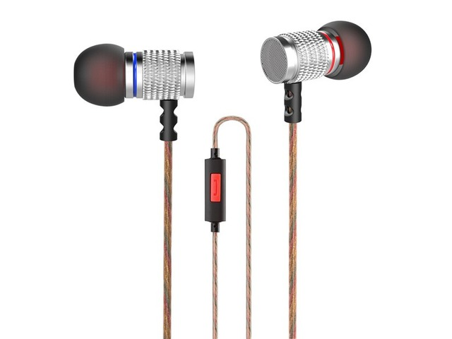 Original KZ EDR2 Metal Heavy Bass In-ear Headphone Clear Sound Music Headphone with Mic | FreeAds.info