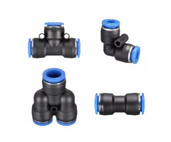 Pneumatic Push In Fittings for Air/Water Hose and Tube Connector