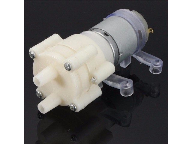 DC6-12V R385 Aquarium Fish Tank Round Water Air DC Diaphragm Pump | FreeAds.info