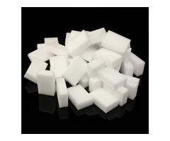 100pcs 30mm Thickness Magic Cleaning Sponge 90x60x30mm Magic Melamine Cleaning Eraser Sponges