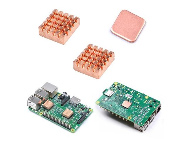 15Pcs Raspberry Pi 2/3 Copper Heat Sink Heat Sink | FreeAds.info