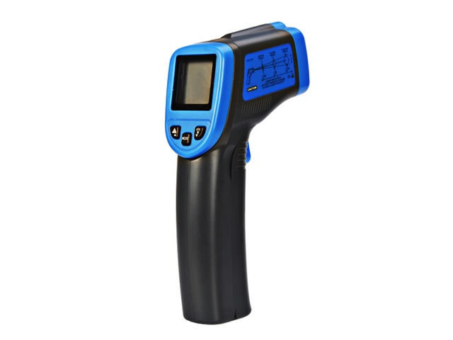 ST600 -32-600℃ Non Contact Laser Lcd Display Digital IR Infrared Thermometer Temperature Meter Gun | FreeAds.info